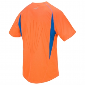 Saucony Kinvara Short Sleeve Top Orange