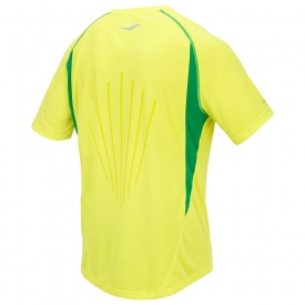 Saucony Kinvara Short Sleeve Top Yellow