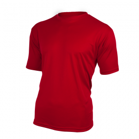Base T-Shirt POL-RED ,130g, Polyester