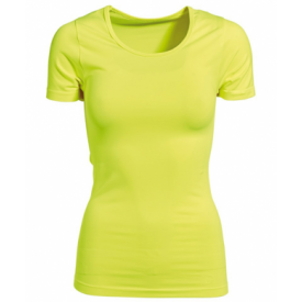 Caritesport Freja Tee Women - Safety Yellow