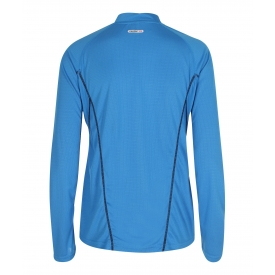 Newline Women's Base Zip Shirt Blue