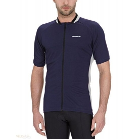 Shimano Loose Fit full zip short sleeve jersey