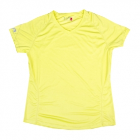 Newline Base Cool Tee - limonkowa
